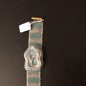 Beautiful handmade beaded bracelet